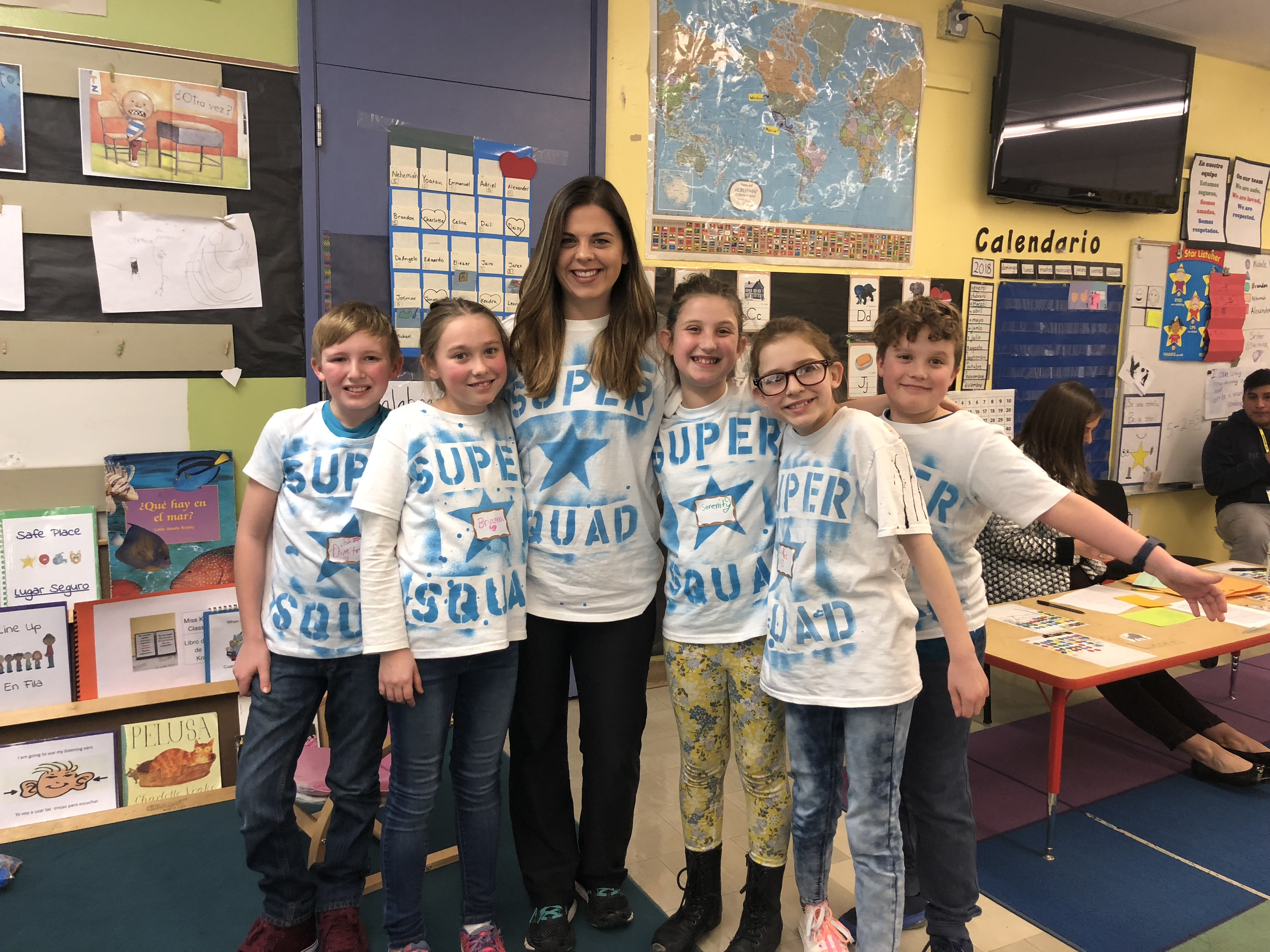 South Shore Elementary OBOB team members.
