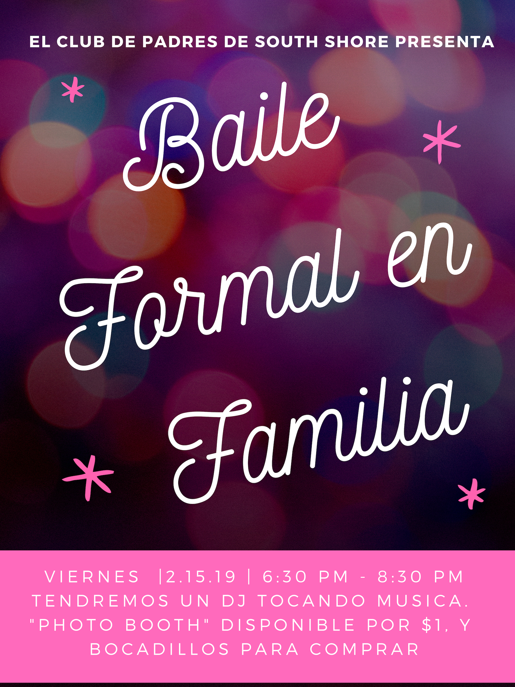 Information about family formal